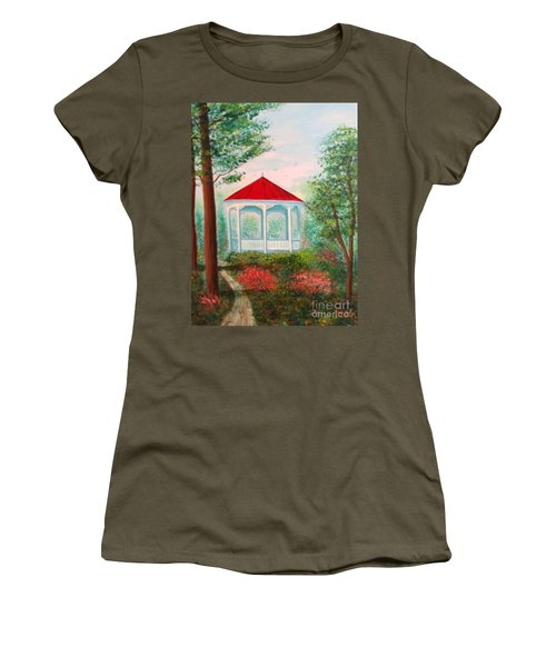 Gazebo Dream Women's T-Shirt (Athletic Fit)