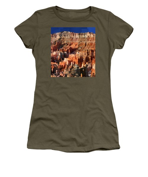 Geology Triptych - Three Women's T-Shirt (Athletic Fit)