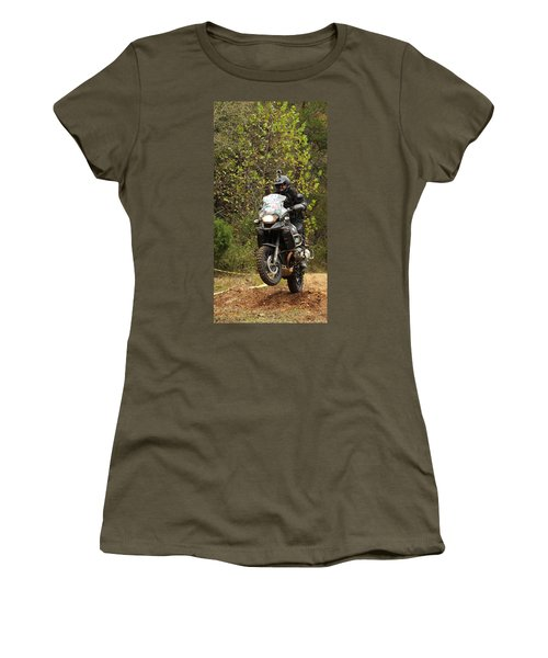 Getting Some Air Women's T-Shirt (Athletic Fit)