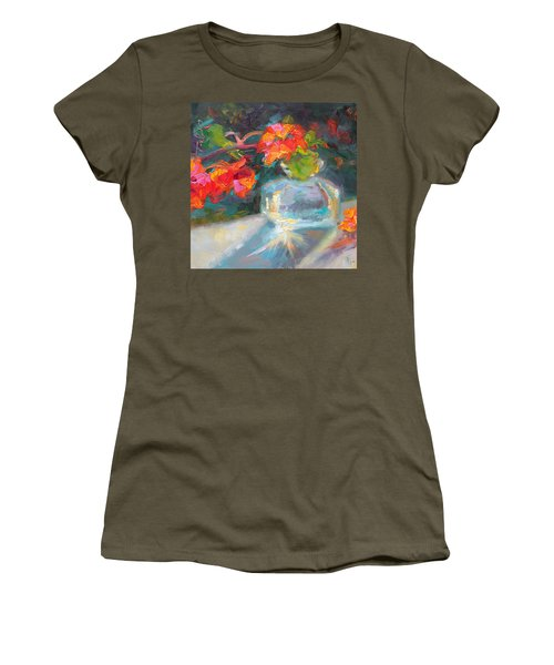 Gleaning Light Nasturtium Still Life Women's T-Shirt