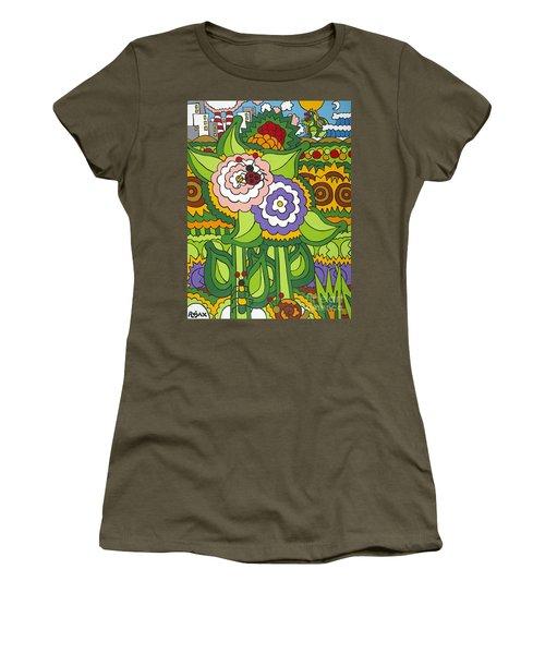 Glee Women's T-Shirt (Junior Cut) by Rojax Art