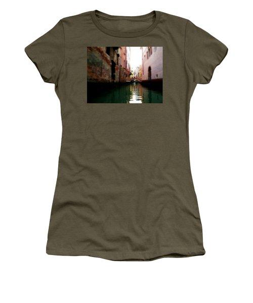 Gliding Along The Canal  Women's T-Shirt