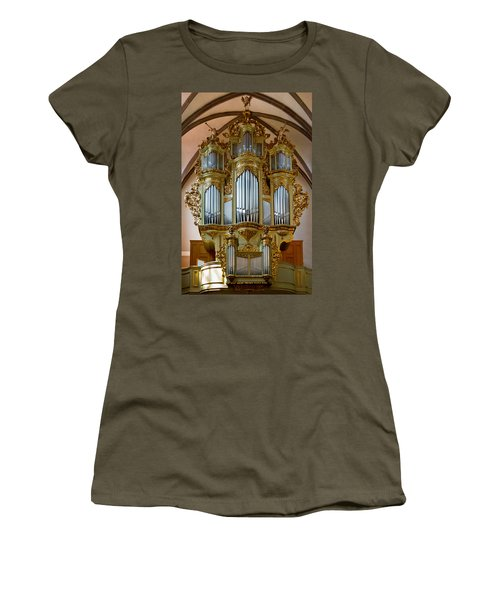 Glorious In Gold Women's T-Shirt (Athletic Fit)