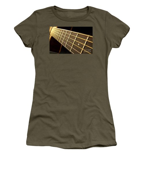 Women's T-Shirt (Junior Cut) featuring the photograph Golden Days by Andrea Anderegg