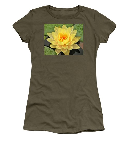 Golden Lily Women's T-Shirt (Athletic Fit)