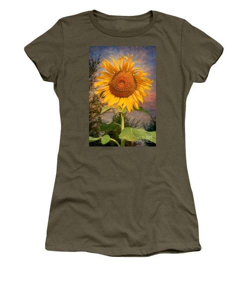 Golden Sunflower Women's T-Shirt