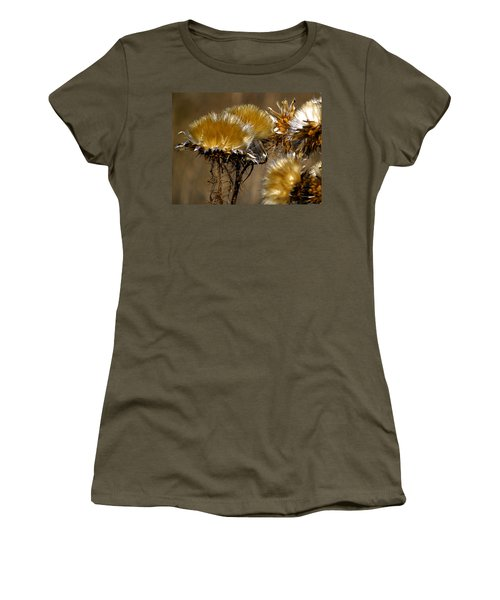 Golden Thistle Women's T-Shirt (Athletic Fit)