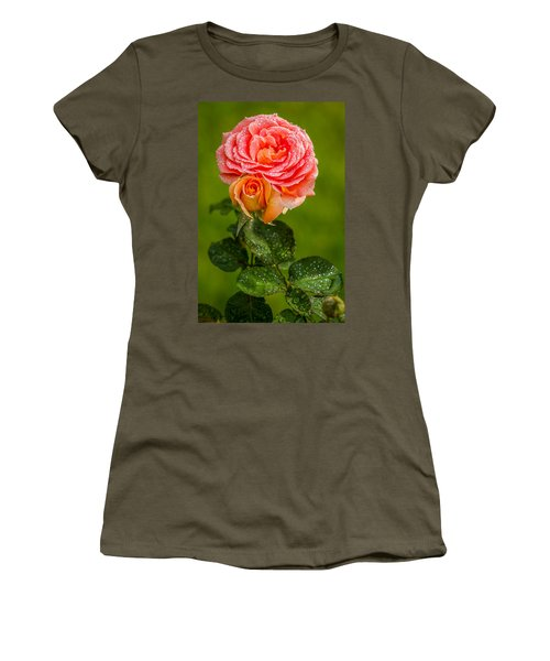 Women's T-Shirt (Junior Cut) featuring the photograph Good Morning Beautiful by Ken Stanback