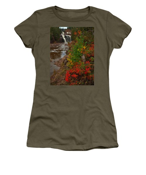 Gooseberry Foilage Women's T-Shirt (Athletic Fit)