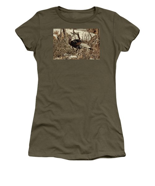 Gould's Wild Turkey Xii Women's T-Shirt (Athletic Fit)