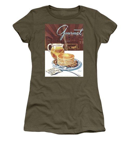 Gourmet Cover Of Pancakes Women's T-Shirt