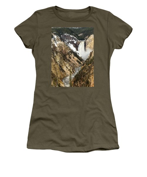 Grand Canyon Of The Yellowstone Women's T-Shirt