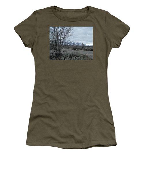 Grand Tetons Landscape Women's T-Shirt