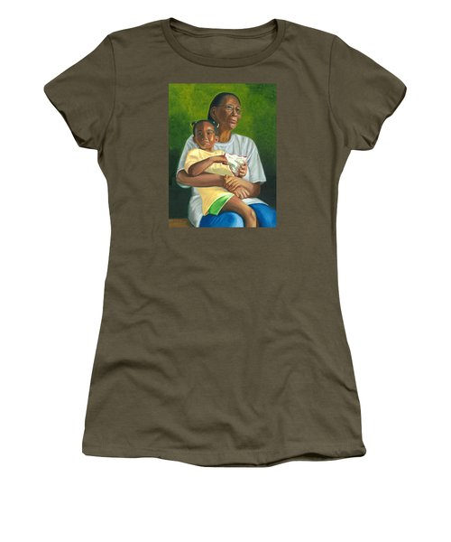 Grandma's Lap Women's T-Shirt