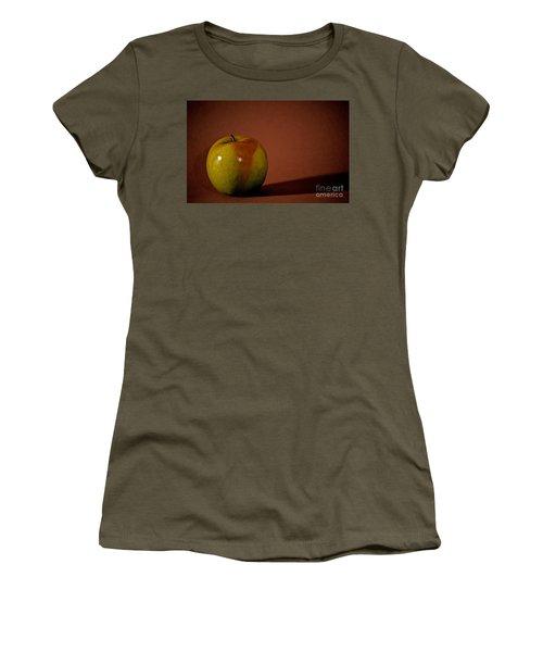 Women's T-Shirt (Junior Cut) featuring the photograph Granny Smith by Sharon Elliott