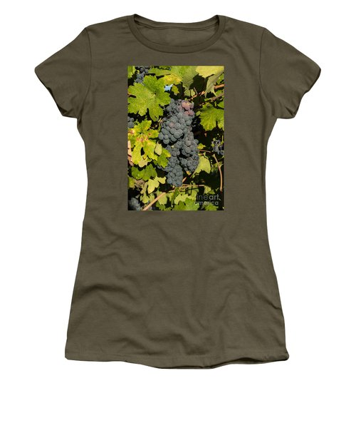 Grape Harvest Women's T-Shirt (Athletic Fit)
