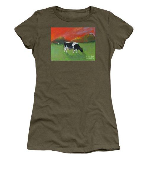 Grazing Cow Women's T-Shirt