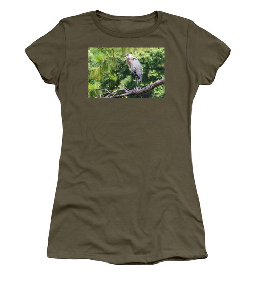 Great Blue Heron I Women's T-Shirt