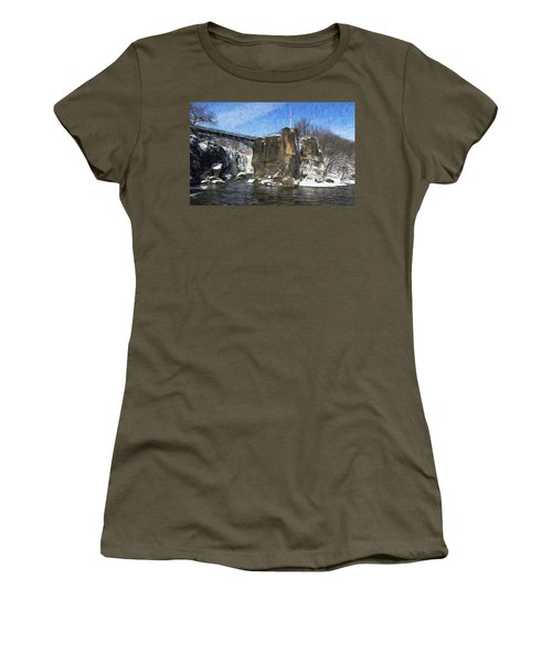 Great Falls Painted Women's T-Shirt
