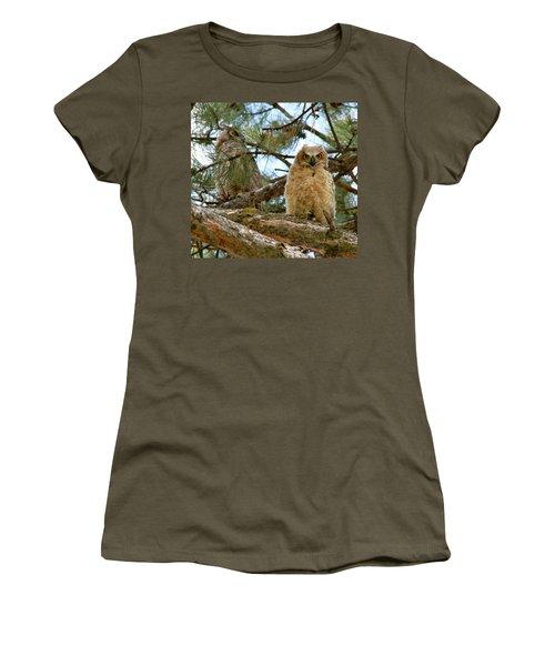 Great Horned Owls Women's T-Shirt