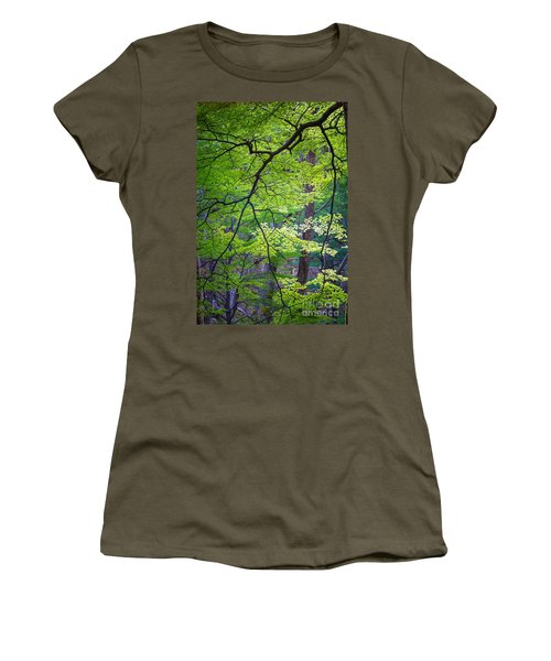 Green Explosion Women's T-Shirt