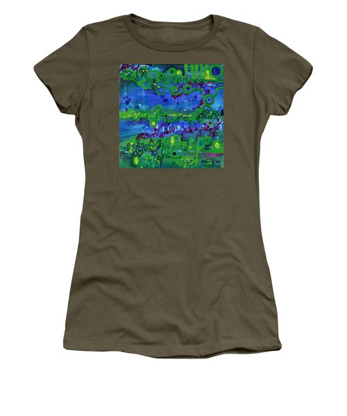 Green Functions Women's T-Shirt (Athletic Fit)