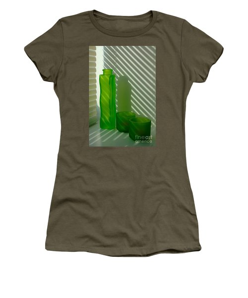 Green Green Glass Women's T-Shirt