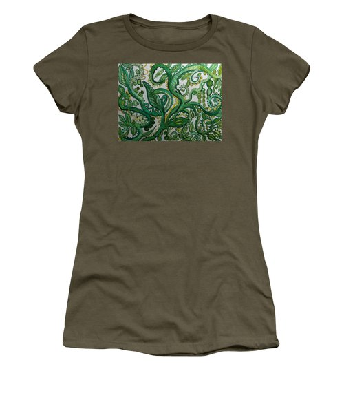 Green Meditation Women's T-Shirt