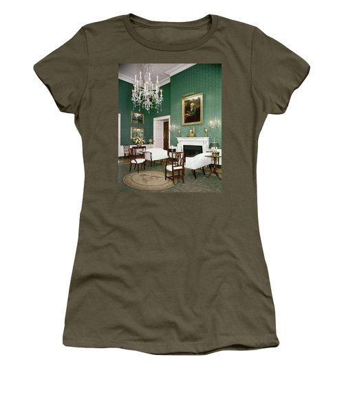 Green Room In The White House Women's T-Shirt