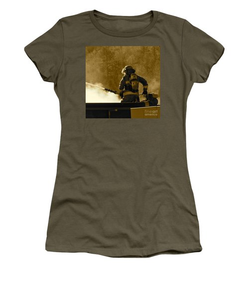 Greer Lodge  Women's T-Shirt (Junior Cut)