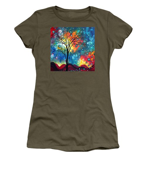 Greeting The Dawn By Madart Women's T-Shirt