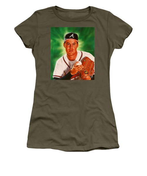 Greg Maddux Women's T-Shirt (Athletic Fit)