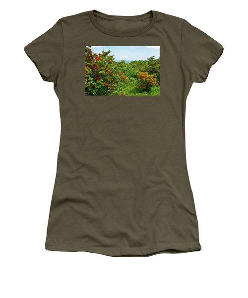 Gregory Bald Women's T-Shirt (Junior Cut) by Melinda Fawver