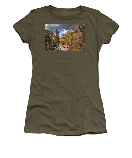 Grizzly Creek Cottonwoods Women's T-Shirt (Athletic Fit)