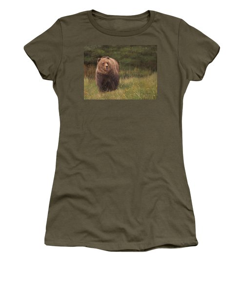 Grizzly Women's T-Shirt (Athletic Fit)