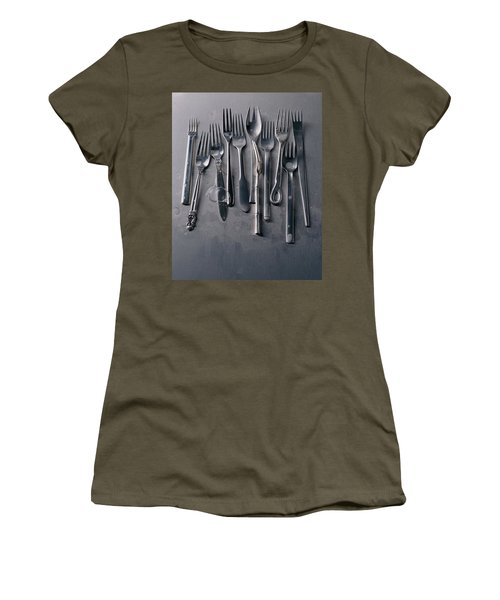 Group Of Clean Forks Women's T-Shirt