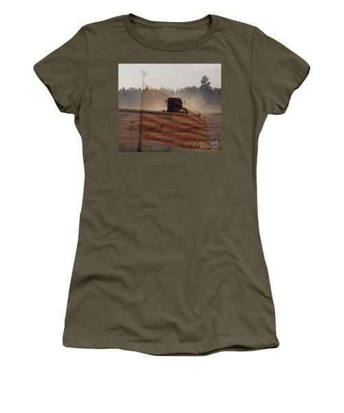 Grown In America Women's T-Shirt (Athletic Fit)