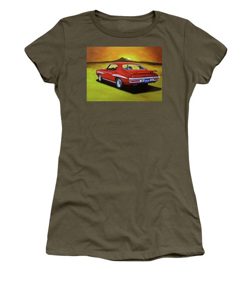 Gto 1971 Women's T-Shirt (Athletic Fit)