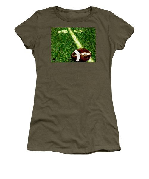 Women's T-Shirt (Junior Cut) featuring the painting Halfway There  by Jackie Carpenter