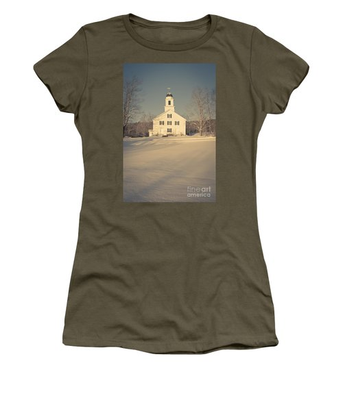 Hanover Center Church Etna New Hampshire Women's T-Shirt