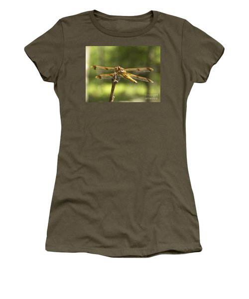 Happy Dragonfly Women's T-Shirt (Athletic Fit)