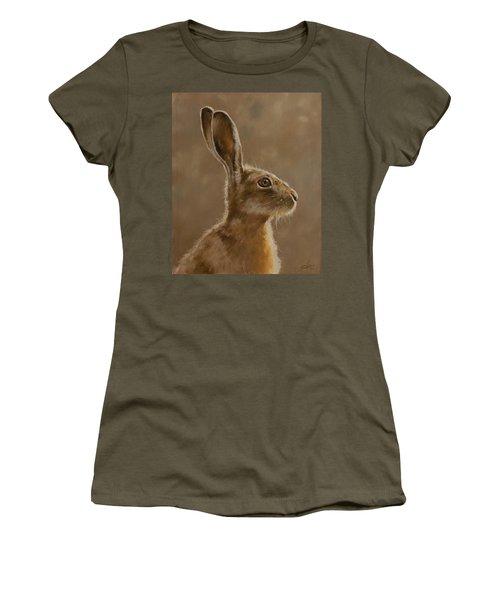 Hare Portrait I Women's T-Shirt