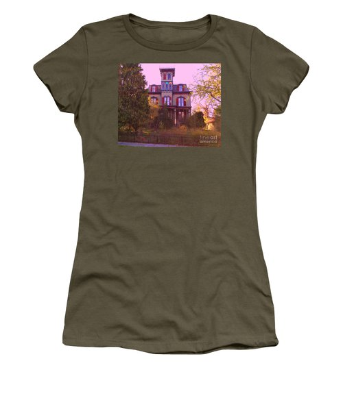 Women's T-Shirt (Junior Cut) featuring the photograph Hauntingly Victorian 1 by Becky Lupe