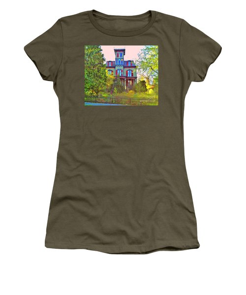 Women's T-Shirt (Junior Cut) featuring the photograph Hauntingly Victorian  by Becky Lupe