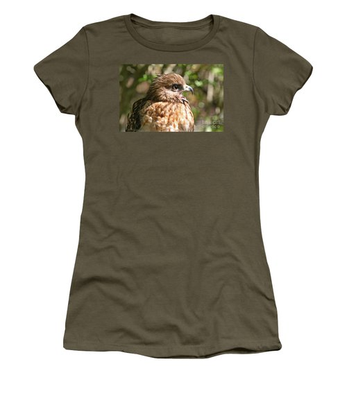 Hawk With An Attitude Women's T-Shirt