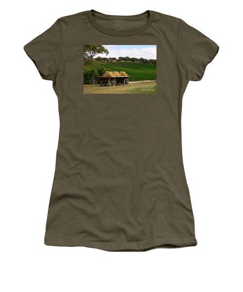 Hay Wagon Women's T-Shirt