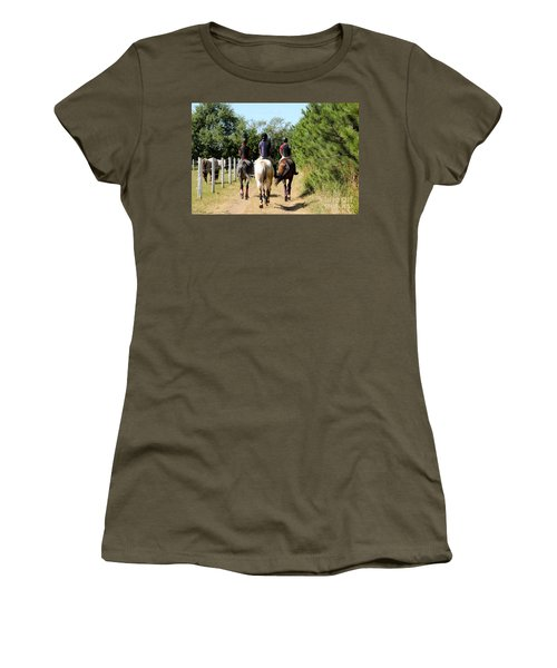 Heading To The Cross Country Course Women's T-Shirt