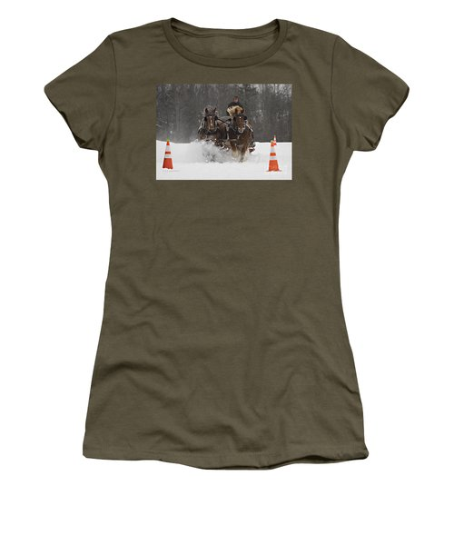 Heading To The Finish Women's T-Shirt