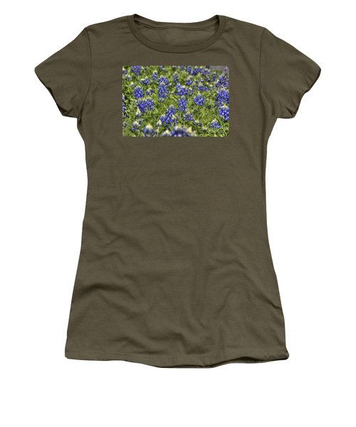 Heavenly Bluebonnets Women's T-Shirt
