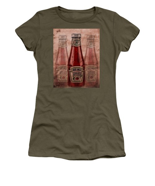 Women's T-Shirt featuring the photograph Heinz Tomato Ketchup by Dan Sproul